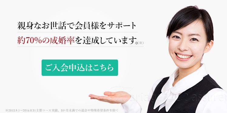 結婚相談所 東京 成婚率